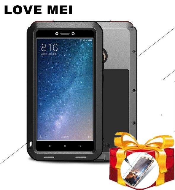 pretty nice b5218 e5668 US $28.0 20% OFF|Gorilla glass) LOVE MEI Metal Waterproof Case For Xiaomi  Mi Max 2 3 Shockproof Cover For Xiaomi Max 2 Mi Mix 2 2S 3 Mi8 Mi 8 Mi6-in  ...