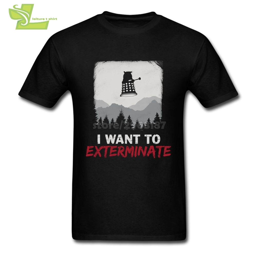 Baisc T Shirts Doctor Who Fitted T Shirts Teenage Round Collar Short Sleeve Tee Shirts New Brand Teenage Funny Tee Shirts