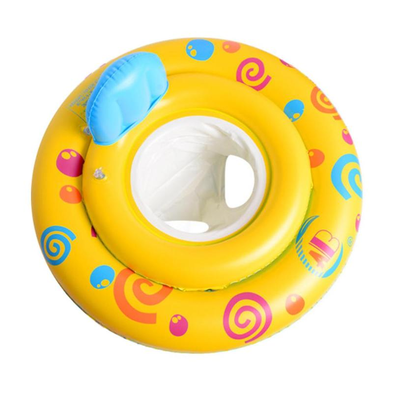 Kids Swimming Ring Seat Baby Swimming Ring Pool Float Bath Buoyancy Aid Water Fun Safety Training Swim Props Wading Sports