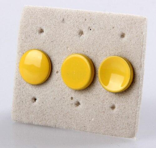 3 шт. желтый плоским выпуклый вогнутый спусковую кнопку затвора для Lica Fujifilm X100 x100s x10 x20 X-Pro1 m6 m8 m9 x-e1 x-e2 камеры
