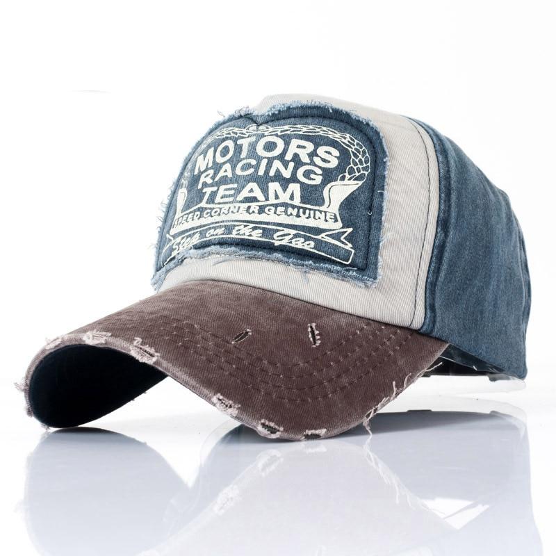 100% QualitäT 2018 Baumwolle Kappe Baseball Kappe Snapback Hut Sommer Vintage Jeans Trucker Kappe Hip Hop Einbau Kappe Hüte Für Männer Frauen Schleifen