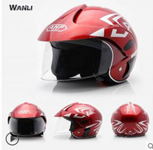child Cartoon children motocross half face motorcycle helmet MOTO electric bicycle safety headpiece for kids free size