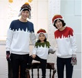 Roupas família árvore de natal neve camisola família Set roupas para mãe e filha pai filho vestuário HP187