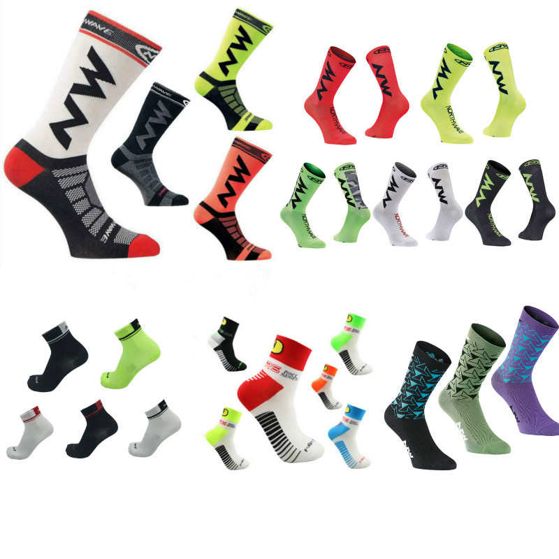 High Quality Professional Brand Sport Socks Breathable Road Bicycle Socks Outdoor Sports Racing Cycling Socks Footwear