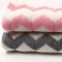 คุณภาพสูงถักเด็กทารกแรกเกิดผ้าห่ม Super Soft Warm ทารกผ้าห่มขนสัตว์ผู้หญิงเด็ก 102*76 ซม. สำหรับเตียง