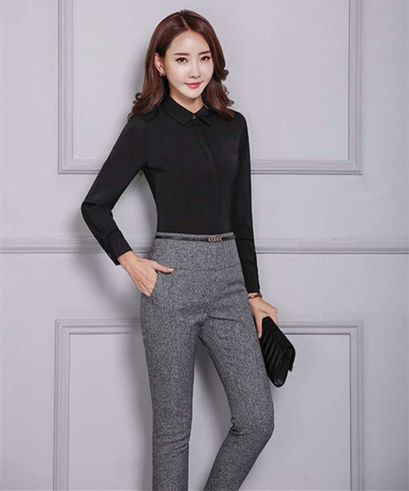 HTB1eaiNbRTH8KJjy0Fiq6ARsXXaV - Office Lady Formal Pants Women High Waist Work Trousers Fashion Casual Autumn Spring Pencil Pants Female Clothing 4XL XXXL