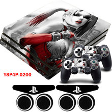 Chica Vinilo Foto HD Portective Sticker Decal & 2 Gamepad Pieles 2 xLED Pegatinas Para PS4 Dualshock Pro Playstation 4 Pro Consola