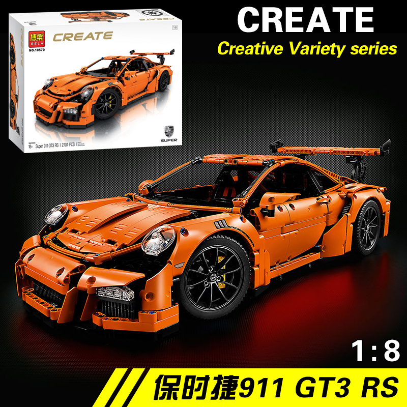 NEW IN STOCK 2704pcs technic series 911 GT3 RS Model Building Kits Blocks Bricks Compatible Blocks 42056 Toys for children