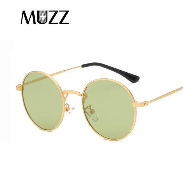 e2dd0b7799 MUZZ Brand Designer Classic Polarized Driving Round Sunglasses Men Retro  John Lennon Glasses Women Metal Fashion