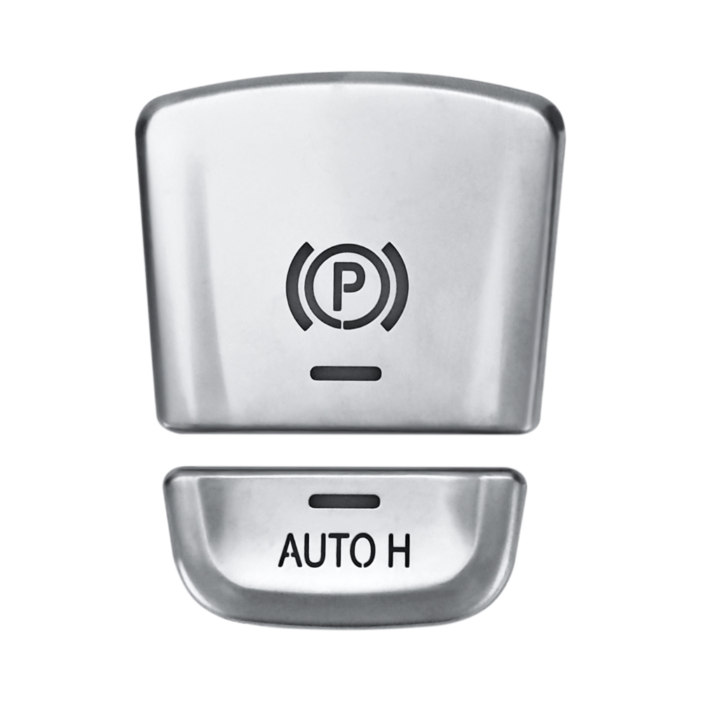 ABS Car Parking Switch Button Cover For BMW X3 525 530 F10 F07 F01 F25 F26 F06 X5 F15 X6 Interior Mouldings Accessories