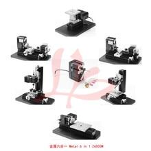All Metal Type! Student DIY mini lathe 6 in1 lathe /Z6000M all metal 6in1/24W,20000rpm Mini Combined Machine/