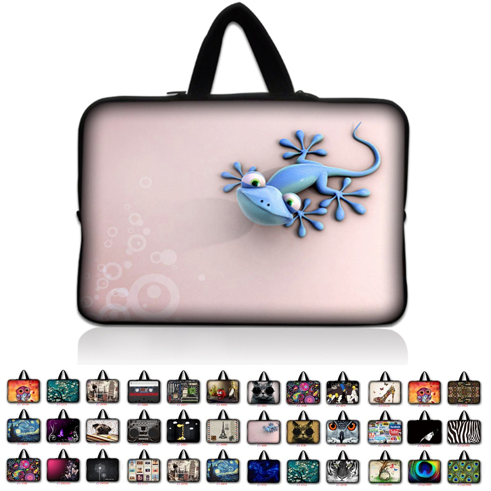 7 10 12 13 13.3 14.4 15.6 17.3 inch Handle Laptop Sleeve Bag Notebook Smart Cover Case PC Handbag For Macbook Air/Pro/Retina *8