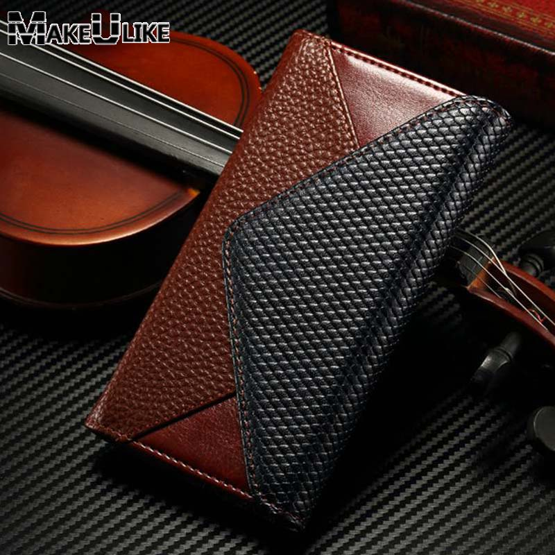 MAKEULIKE Wallet Bag Case For iPhone 8/8 Plus Flip Cover Case PU Leather Envelope Style Phone Pouch For Apple Iphone 8 8plus
