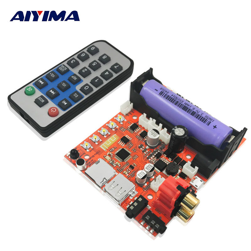 AIYIMA Bluetooth Audio Receiver Lossless Bluetooth 4.2 Speaker Amplifiers Board Decoding Module цена