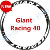 GIANT Racing 40 Reflective Wheelset Bisiklet 700C Road Bike Cycling 30 40 50 Rim Wheel Sticker