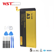 WST Brand Replacement Battery Mobile Phone Battery for Samsung A3 A300 A3000 A3009 A300F A300H Batterie Bateria