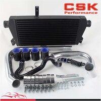 Upgrade FMIC Intercooler Kit For 96 01 VW Passat Audi A4 B5 1.8T Black / Blue /Red