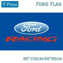 90x150 см 60x90 см Автомобильный флаг Ford полиэстер цифровая печать