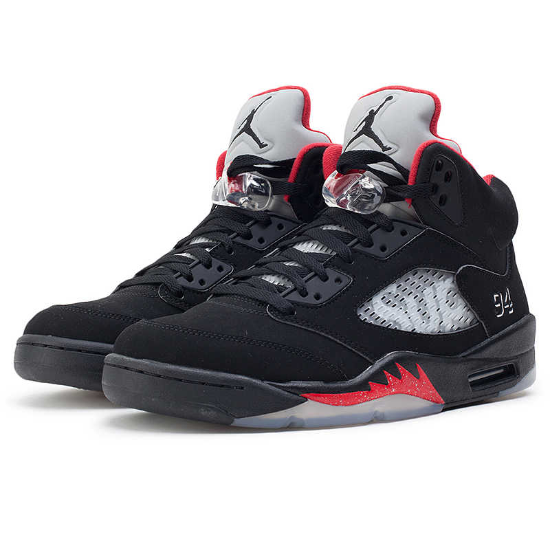outlet store cfe66 4062f Nike Air Jordan 5 AJ5 Limited Edition Joint Men's Basketball Shoes  Sneakers, Original Outdoor Sneakers 824371 001