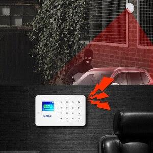 Image 4 - KERUI P861 Mini su geçirmez PIR açık hareket sensörü KERUI kablosuz güvenlik Alarm hırsız alarmı sistemi