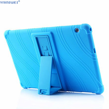 Silicon Case For Huawei MediaPad T5 AGS2-W09/L09/L03/W19 10.1Tablet stand cover for huawei mediapad 10 Soft case