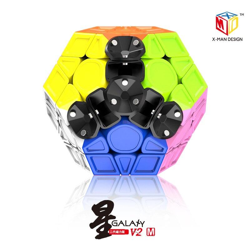 QIYI Megaminx Cube magique magnétique V2 vitesse Puzzle Cubes jouets éducatifs cadeaux