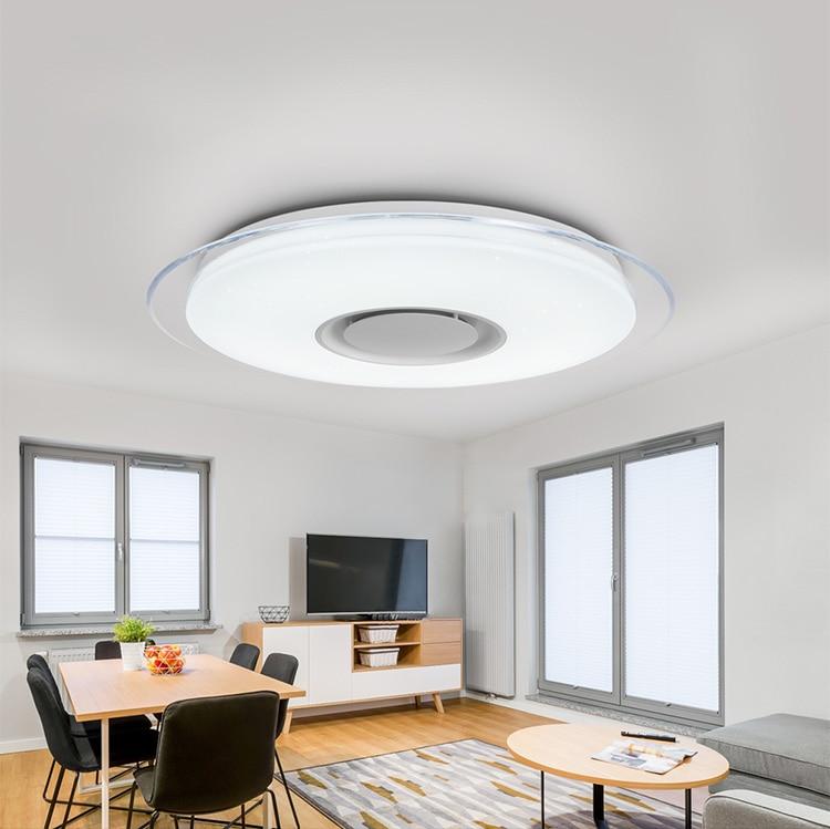 Modern LED ceiling Lights home lighting 25W 36W 52W APP Bluetooth Music light bedroom lamps Smart ceiling lamp