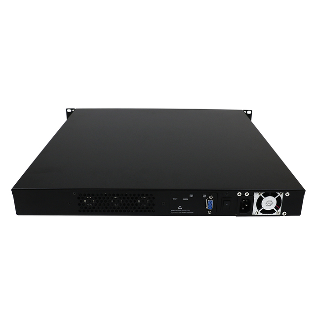 Yanling New 1U Rack Server 8 Intel i211-AT Lan Network Security Computer VPN Router with Core i3 6100 CPU For ROS Pfsense 1