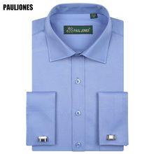 3c904fd13 5xl طويل كم قميص الفرنسي صفعة رجال الأعمال صالح منتظم الصلبة الرسمي  الاجتماعية فساتين ماركة ملابس