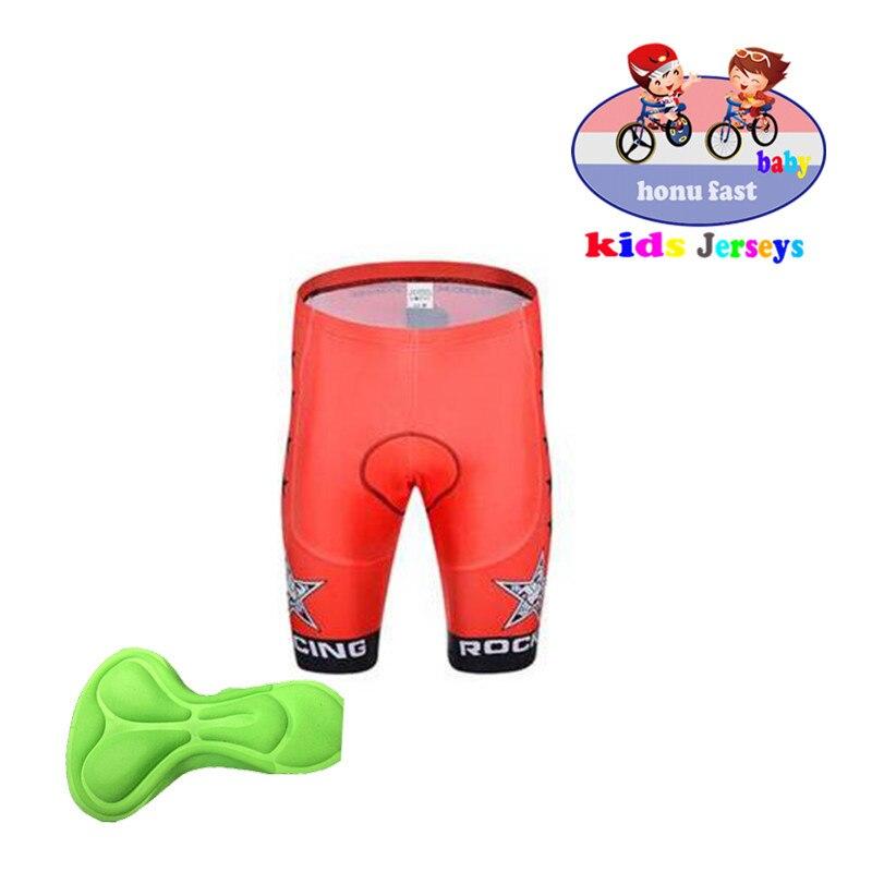 Childs Bike Shorts Kids Biking Padded Youth Short Childrens Spandex Lava Lamp
