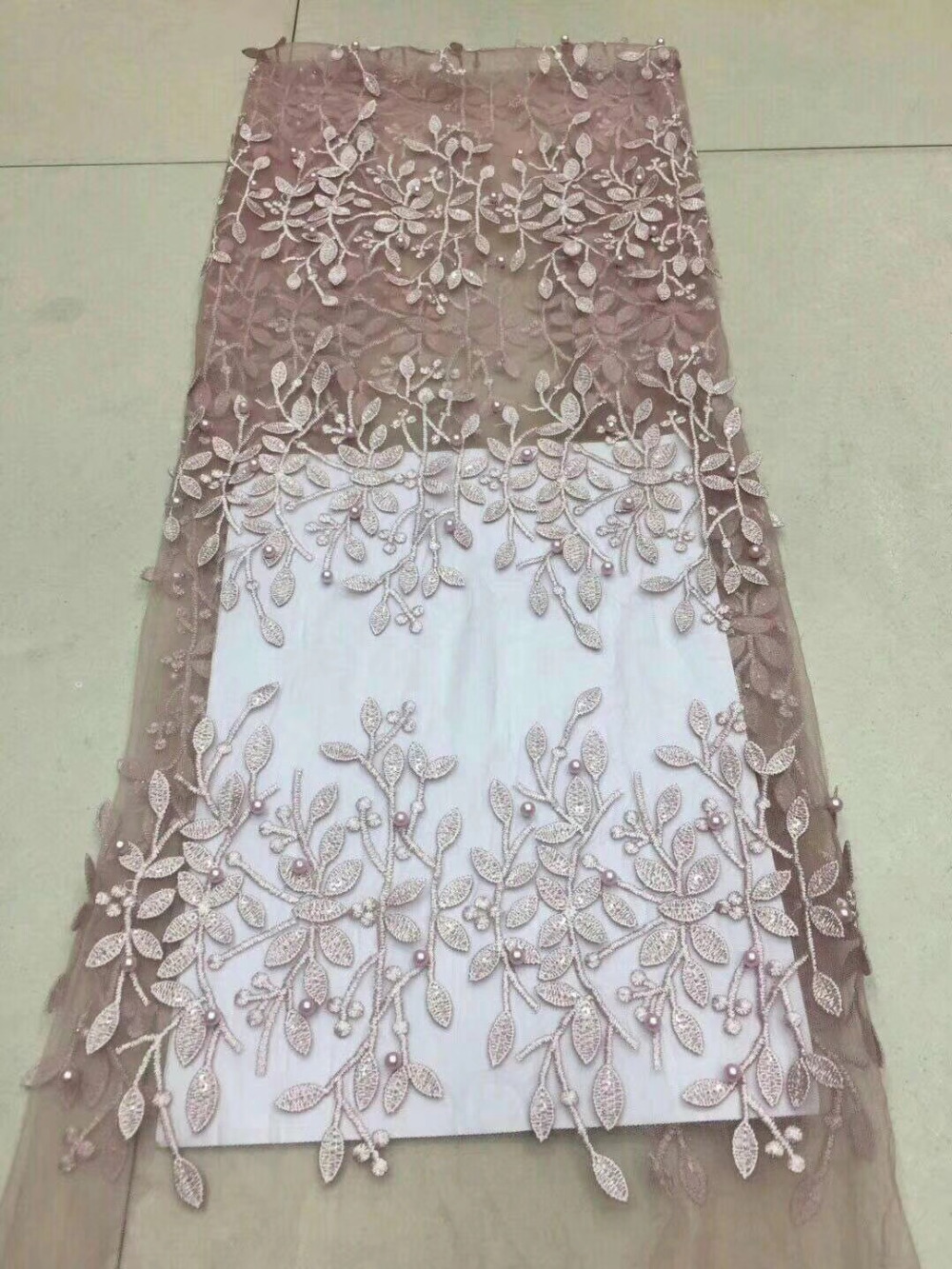 Best Selling 2018 African Cord Lace High Quality French Lace With Plenty Beaded or African Lace Fabric For Nigerian Lace DressBest Selling 2018 African Cord Lace High Quality French Lace With Plenty Beaded or African Lace Fabric For Nigerian Lace Dress