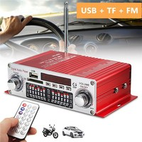 KROAK 12V Car HIFI Amplifier Mini BT Digital Player AM FM Radio Speaker USB Power