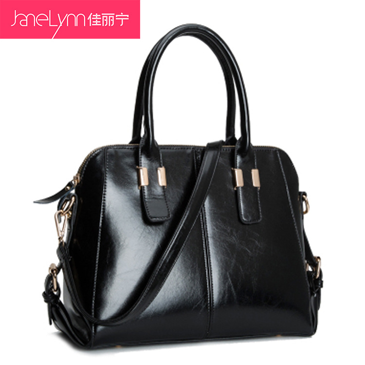 Hot Sale Women's Brand Handbags Special Offer PU Oil Waxing Leather Handbag Female Shoulder Bags