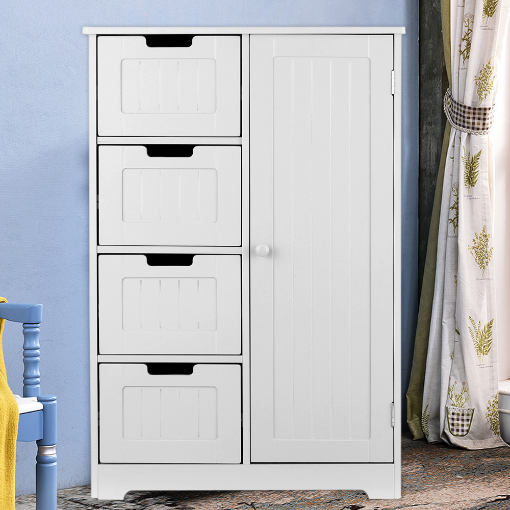 Ikayaa Modern Shelved Floor Cabinet