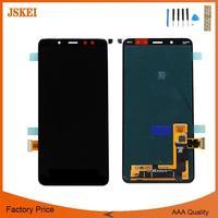6,0 дюймов для samsung Galaxy A8 + A8 плюс 2018 A730 A730F ЖК дисплей Дисплей Сенсорный экран планшета Ассамблеи Бесплатная доставка