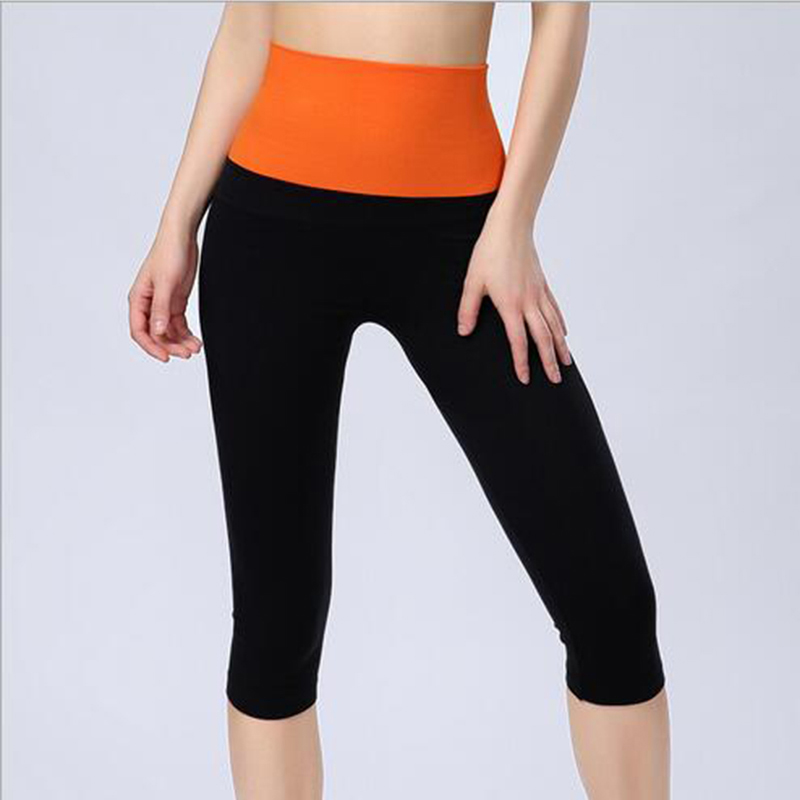 0aebda0c4b Hot Women Fitness Yoga Pants Female Solid Elastic High Waist sports pants  Gym Running Sport Leggings workout Fitness Pant SZZ01 on Aliexpress.com    Alibaba ...