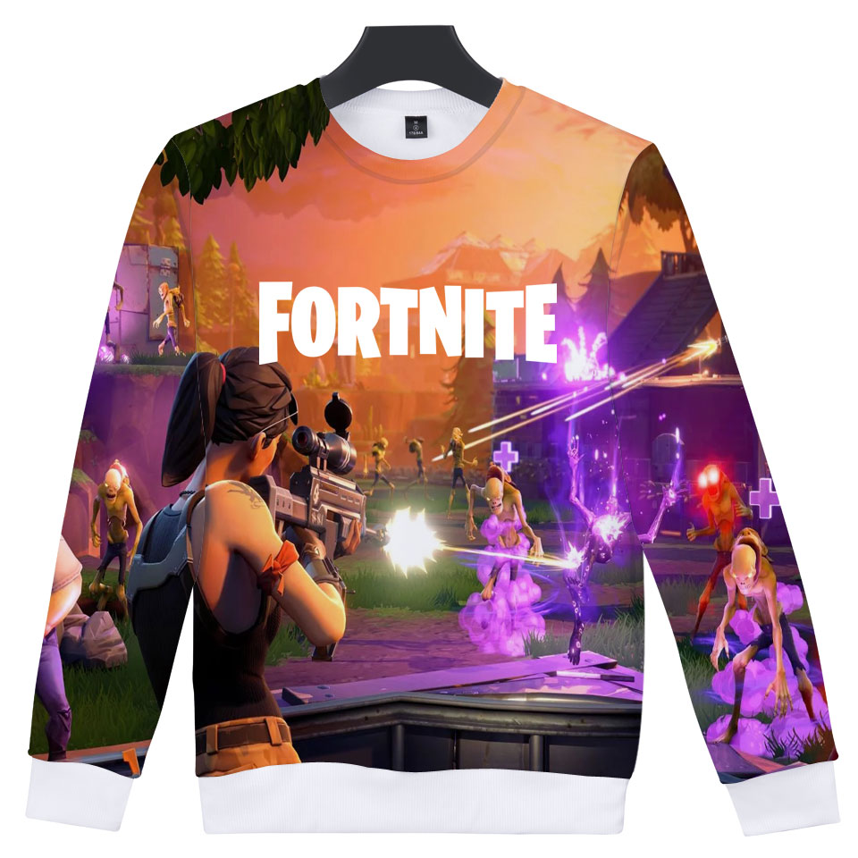 2018 Game Fortnite 3D Print Sweatshit Men/women Fashion 3D Fortnite Hoodies Men/women Casual Harajuku 3D Print Clothes
