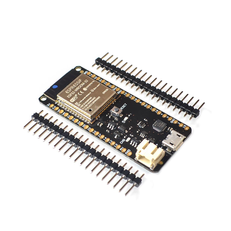 US $3 86 5% OFF|ESP32 ESP 32 ESP 32S ESP32S For WeMos Mini D1 Wifi  Bluetooth Wireless Board Module Based ESP WROOM 32 Dual Core Mode CPU-in  Integrated