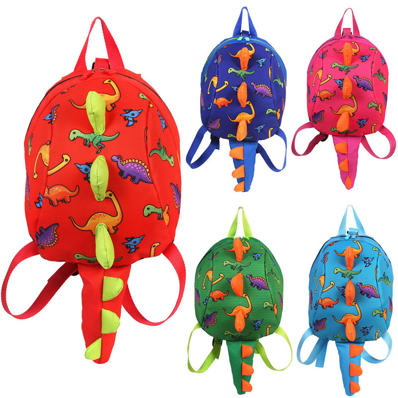 Cute Child Backpacks Baby Girls Cartoon Dinosaur Animal Backpackchildren's Backpack Bags Cartoon School Knapsack Kids Bookbags