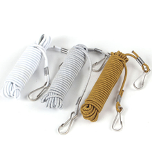 3M Fishing Safety Rope Elastic Lanyard Tensile Rod Protectors Retractable Retention Cable Carp Accessory A113