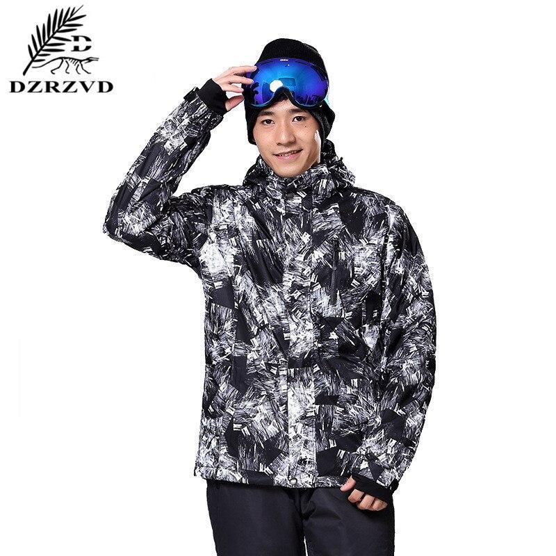 Ski Jacket Men Outdoor Waterproof Windrpoof Anti Wear Winter font b Snowboard b font Skiing Snow