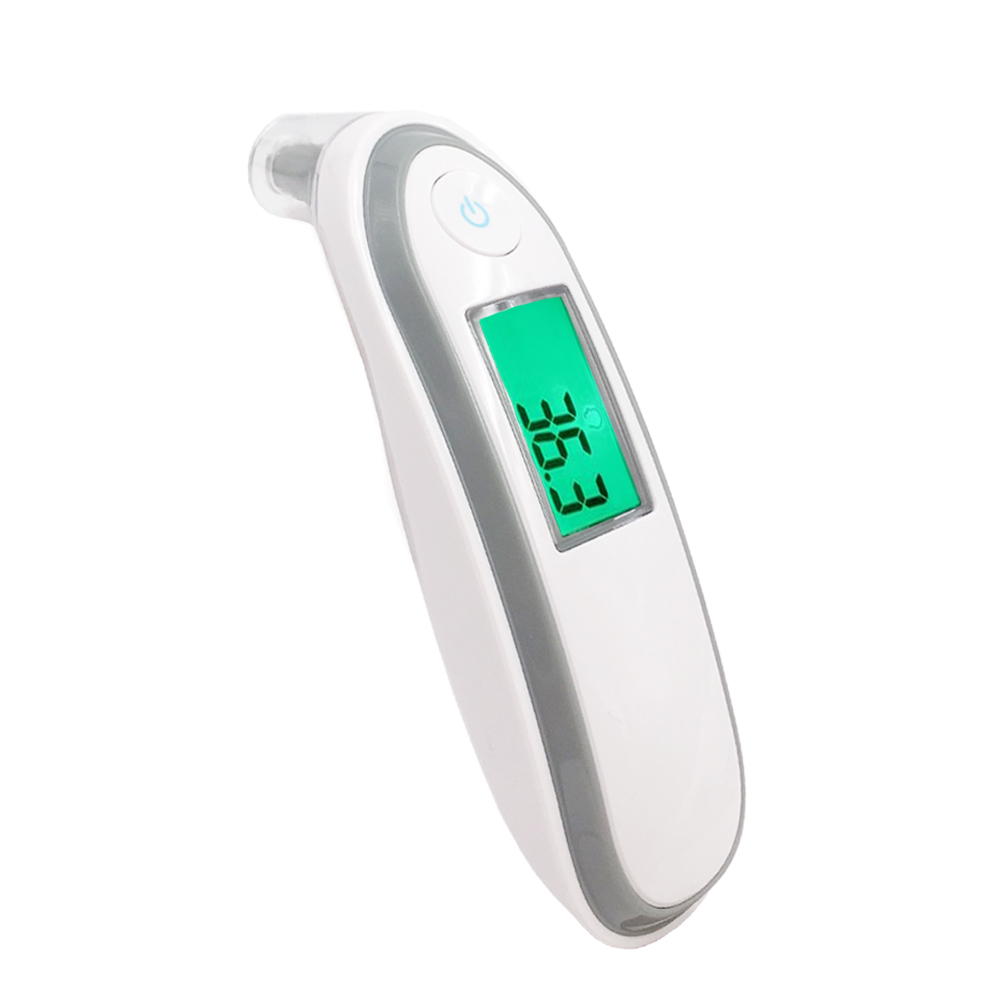Diagnostic-tool Infrared Baby/Adult Thermometer Ear Forehead Body Digital Termometro LCD Screen Smart Alarm