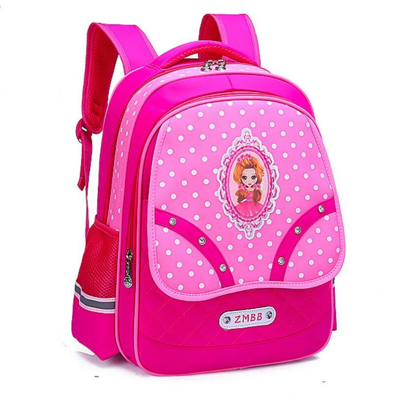 Children School Bags Girls Orthopedic Backpack Kids Princess Backpacks Schoolbags Primary School Backpack Kids Satchel Mochila