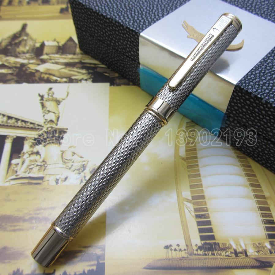 Crocodile iridium M nib fountain pen silver mesh barrel Gold mesh barrel Choose Cc1096302 стоимость