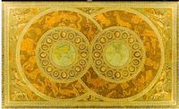Tùy chỉnh 3d ảnh nền 3d trần wallpaper Sang Trọng phong cách châu âu 12 dấu hiệu hoàng đạo các zenith 3d phòng khách wallpaper