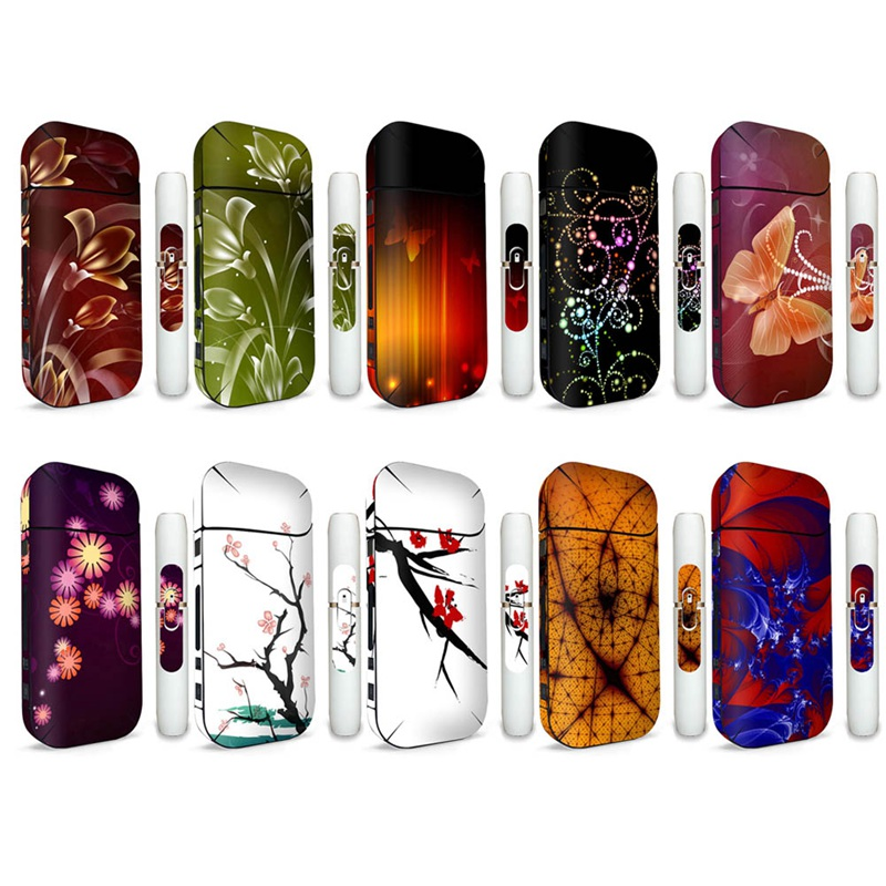Protective Covers Electronic Cigarette Accessories Beautiful Girl Sticker Wrapper Sticker Skin For IQOS 2.4 Plus