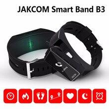 Оригинальный jakcom B3 Смарт часы 2 в 1 Bluetooth Smart Браслет + гарнитура Bluetooth Напульсники для Android/IOS смартфоны