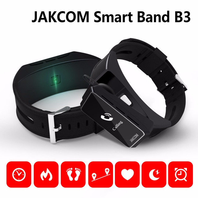 Original Jakcom B3 Smart Band Watch 2 in 1 Bluetooth Smart Bracelet + Bluetooth Headset Wristbands For Android/IOS Smartphones