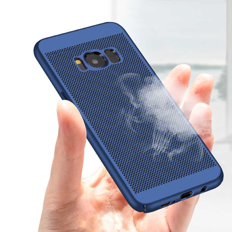 Ультратонкий Жесткий Чехол для samsung Galaxy S9 S8 плюс S7 S6 Edge Note 8 9 A3 A5 A7 J3 J5 J7 Neo 2016 2017 A6 A8 J4 J6 J8 2018 крышка