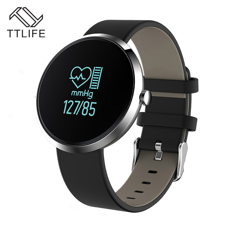 TTLIFE Hot Sale Waterproof Bluetooth 4 0 Smart Watch Run Blood Pressure Fitness Heart Rate Tracker